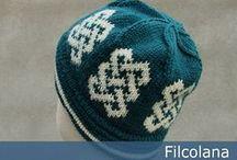 Knitting hat, cowl, scarf pattern