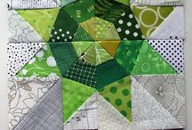 Mini quilts, appliqué and quilt blocks