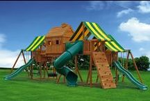 Swing Sets / It's a Jungle Gym Out There! Might as well have fun!