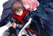 Inori and Shu / Inori, my favourite character of all mangas