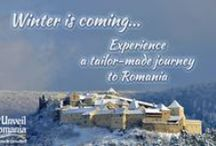 Winter Wonderland of Romania / Winter is coming…and you've never seen it like this. Unveil its 5 charms in an epic journey to Romania! http://unveilromania.com/blog/winter-in-romania-5-charms-of-the-winter-goddess/
