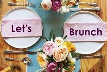 Let's Brunch / Brunch, anyone? Make your next late-morning meal magnificent with cocktail recipes, tablescapes, and both classic and innovative brunch menu ideas on this board.