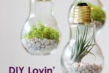 DIY Lovin' / It's time to get crafty. Plan a fun project and liven up your home with these entertaining craft ideas and creative DIY projects.