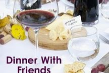 Dinner With Friends / If you're planning anything from a big party to an intimate get-together, you'll want to take note of these hosting tips, table settings, and easily shareable recipes for your fête.