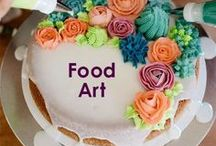 Food Art / Food isn't just fuel, it's an art. Find inspiration for your next edible masterpiece with the sometimes quirky, sometimes breathtaking ideas on this board.