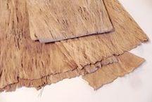 Naturpapiere / Naturpapier, Naturmaterial  prima geeignet für Papierprojekte, Papierkunst, Buchbindearbeiten und viele weitere Bastel- und Experimentierarbeiten.