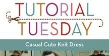 Tutorials & Free Patterns / Interesting tutorials and free patterns for you to sew up our knit fabrics