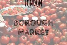 London Borough Market / We love to find delicious food - don't we all? Markets are our favourite places to find such food and Borough Market in central London is one of the best of the best, here are a few shots of gorgeous grub in Borough Market! Enjoy :-)