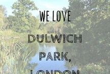 We Love Dulwich Park, London / Dulwich Park in South East London was one of our favourite places to hang out in London. It's great for running, walking, cycling and chilling out...