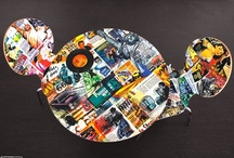 Digital laminate chairs - Sedie in laminato digitale / Italian home furnishing products decorated with stunning digital print laminate - Prodotti d'arredo made in Italy decorati in laminato digitale http://www.segnalidigitali.it