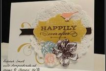 Wedding Cards / Best wishes for the Bride & Groom with handmade wedding cards to celebrate the special day.