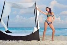 Luz de Mar 2012 / Colección Luz de Mar Verano 2012 con Paula Chaves en Cancún #Luzdemar #bikinis #verano #moda #trajesdebaño #PaulaChaves #Cancún #México www.luzdemar.com.ar