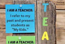 School / Teaching ideas