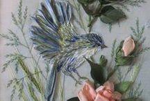 Hafty z ptakami/ Bird embroidery