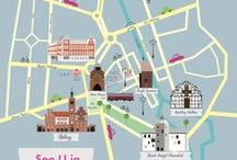 Mapy | Maps of Poland / Ilustrated maps of Poland