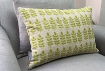 Cushions / Brighten up your bed, spruce up your sofa or add a touch of glamour to your favourite arm chair.