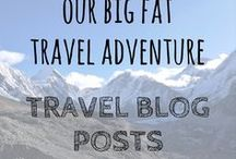 Our Big Fat Travel Adventure | Travel Blog Posts / Every pin from our travel blog. We've been on the road for over five years and counting! World Travellers | Travel Bloggers | Travel | Budget Travel | World Travel | Working Abroad | Digital Nomads | Backpacking | How to Travel the World | Adventure Travel