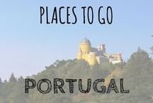 Places to go Portugal / A few pins of the places we'd love to go in Portugal :-) Portugal | Places to go Portugal | Algarve Portugal | Porto | Lisbon #Portugal #visitportugal #beautifulportugal #portugaltravel
