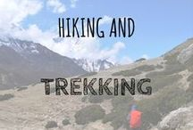 Hiking and Trekking / We love a good walk, here are all the pins that inspire us to get out there and see the world on foot :-0