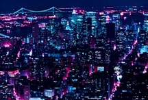 CITY LIGTHS / i'm so damn in love with those city lights