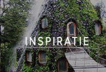 Inspiratie / Wat inspireert ons? En met welke overnachtingen kunnen we jou inspireren? Je vindt het in deze 'originele' board.