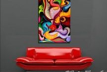 ABSTRACT Paintings / by Julia Apostolova