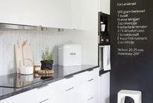 Kitchen / Kök / by Sabine Lindqvist