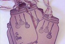 Jmenovky, zdobení dárků, přání