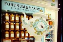 Fortnum & Mason♢Tea Palace / Fortnum & Mason is the most famous tea parlor in London. It goes back to early to mid 1800's. Romance novels sometimes use it as a meeting place. FREE BOARD. / by marie fricchione