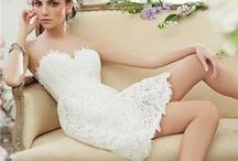 Short wedding dress / by istylecouture