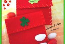Porta-confetti e/o Bomboniere / Oggetti interamente fatti a mano, dalla mia propria creatività.
