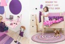Pokój dziecka w stylu skandynawskim - Sebra / Nasz sklep oferuje piękne meble i dodatki do pokojów Waszych maluchów.