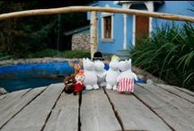 Moomin / Some of our Moomin products. We love the Moomins!