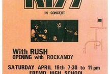 KISS Concert Posters / Kiss Concert Posters
