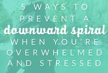 Stress Relief / Tips to Manage Stress