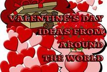 Romantic Valentine's Day Ideas Around the World / Valentines Day creative ideas from Planet Earth, Valentine's Day craft projects for kids and adults, cute ideas for parties, recipes, decorations and more.