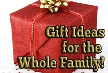 Gift ideas for the whole family / Gift ideas for men, women's best gift ideas along with presents for kids that I find while browsing Pinterest and the web will be shared here. #kidsgifts #mensgifts #womensgifts #giftideas #giftsforher #giftsforhim #uniquegifts #bestgifts