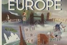 Vintage Travel Posters & Labels