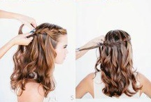 hair style. / makeup.
