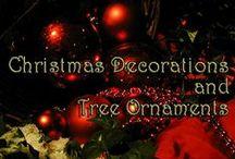 Christmas Keepsake Ornaments and More / These are my most favorite Christmas keepsake ornament ideas for the year. #christmasornaments #treeornaments #christmasdecorations
