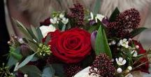 Christmas Bridal Bouquets / Eden Blooms, recommended wedding flower supplier; a selection of our Summer bridal bouquets created for our brides - available December.