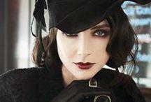 Elegancia / Roupas e maquiagens elegantes