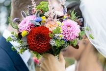 Eden Blooms at Pitt Hall Barn, Ramsdell, Basingstoke / Eden Blooms, wedding flower supplier; a selection of our wedding flowers created for our brides and grooms