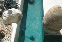 exquisite pools...