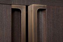 Details / Gold door reveal - nice idea in brass