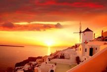 Dreamy Sunsets / Some say that it is the most beautiful time of the day. Enjoy some of the most majestic sunsets in Greece.