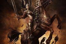 Gudar, myter och legender / Gods and myth