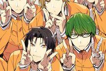 Kuroko no Basket / fave is midorima ♡
