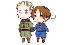 Hetalia / cute countries doing weird stuff.. basically.