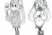 Character Design + Illustration / ♡